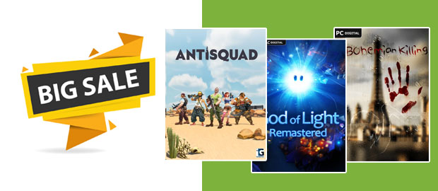 The Great Big PC Download Sale!